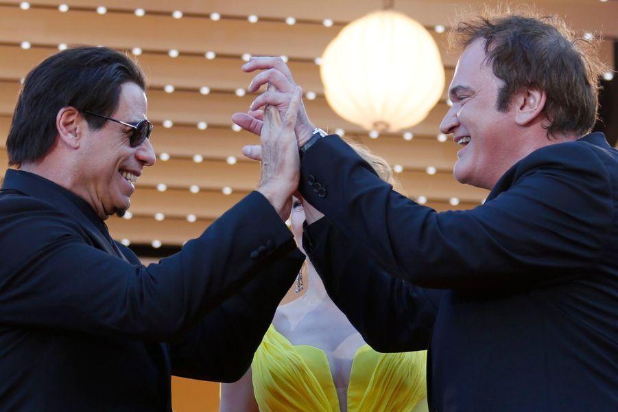 Quentin Tarantino et John Travolta