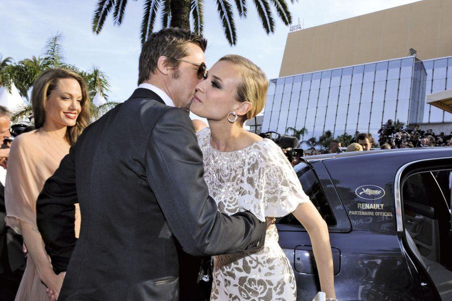 Angelina Jolie, Brad Pitt et Diane Kruger