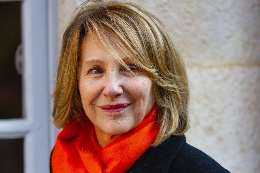 Nathalie Baye à la vente aux enchères des vins des Hospices de Beaune, le 18 novembre 2018
