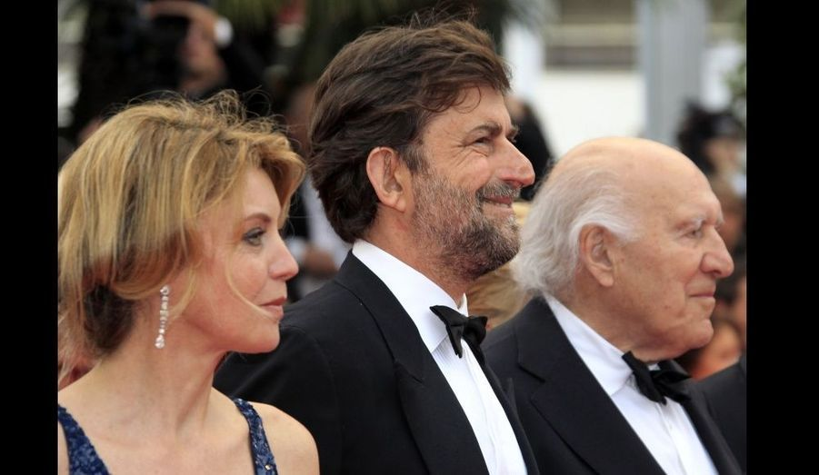 Margherita Buy, Nanni Moretti et Michel Piccoli