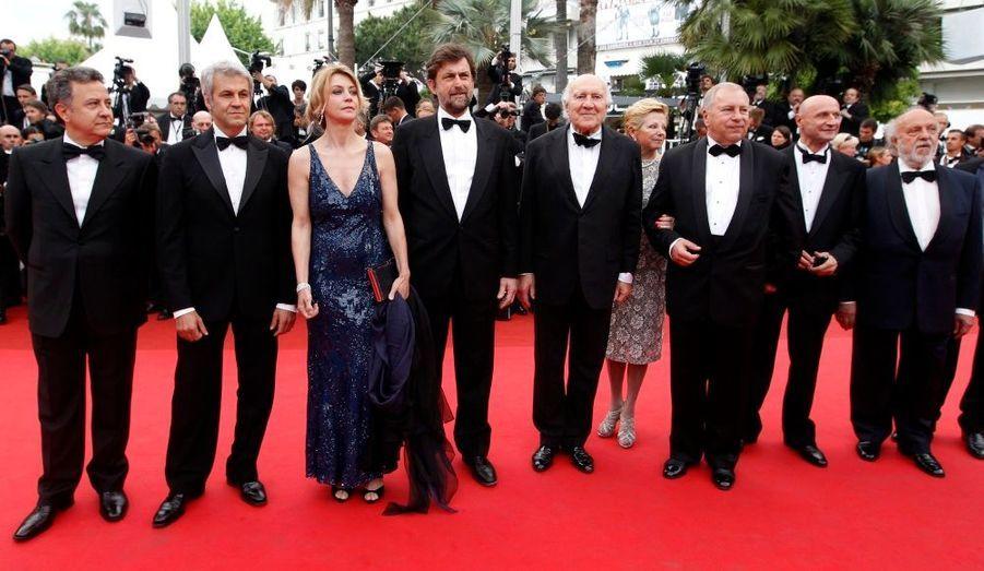 Nanni Moretti et ses acteurs