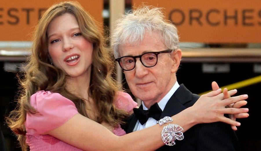 Lea Seydoux et Woody Allen