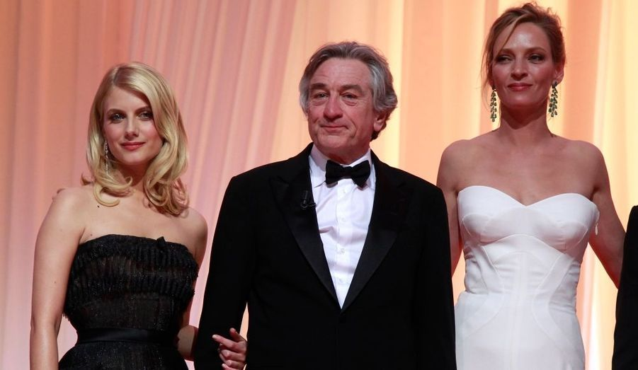 Mélanie Laurent, Uma Thurman et Robert de Niro