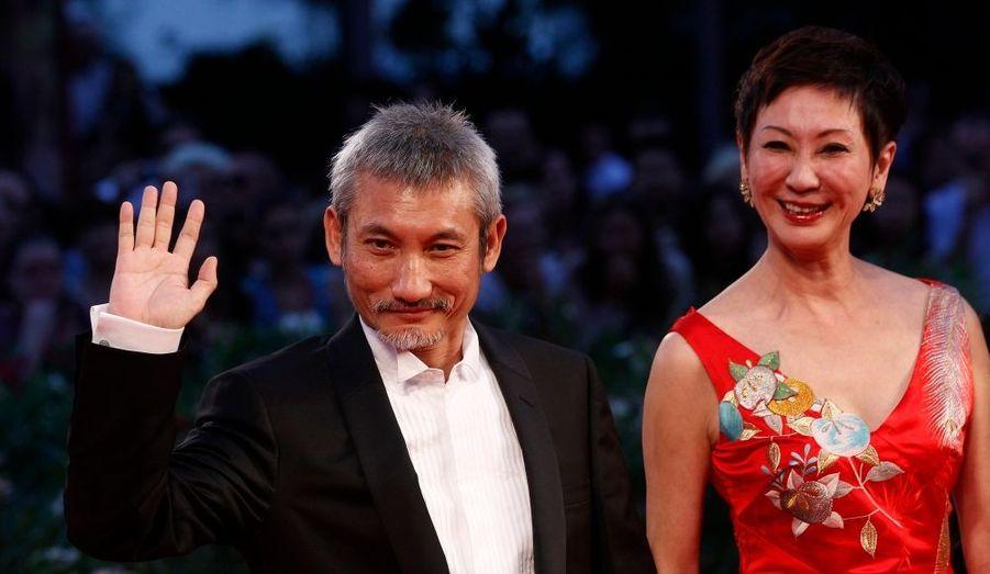 Cette productrice chinoise est aussi l'épouse du réalisateur Tsui Hark à la ville.