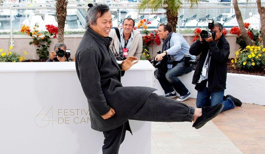 Le réalisateur et acteur sud-coréen, Kim Ki-Duk n'a pas hésité à donner de se personne pour defender son film Airang, en compétition dans la catégorie Un certain regard.