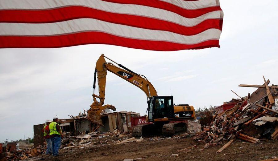 La reconstruction se poursuit à Joplin dans le Missouri, où une tornade a causé la mort de 160 personnes fin mai.