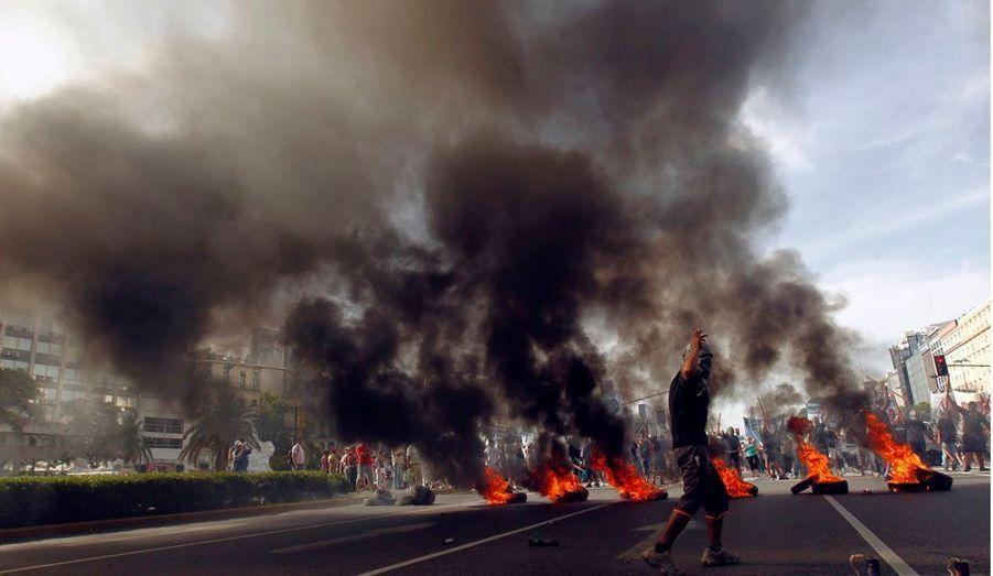 Des échauffourées ont éclaté mardi, à l'occasion du 10e anniversaire du chaos social et économique qui a conduit à la démission du président argentin, Fernando de la Rua.