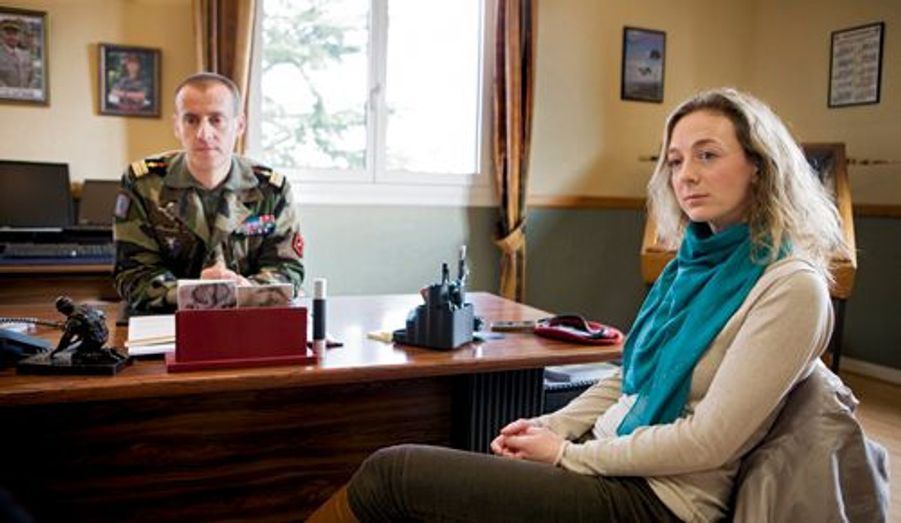 76 soldats français ont déjà trouvé la mort. En septembre dernier, le drame a frappé à la porte de Sandra.