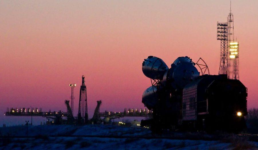 Mercredi, la fusée Soyouz TMA-03M s'envolera dans le ciel russe avec à son bord trois astronautes. Mission ? Rejoindre l'ISS, la station spatiale internationale.
