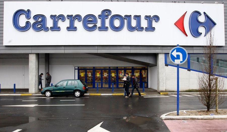 Le numéro 2 mondial de la grande distribution vient d'annoncer la fermeture de 21 hypermarchés et la suppression de 1 700 emplois en Belgique, ici en photo le magasin de Bruxelles.