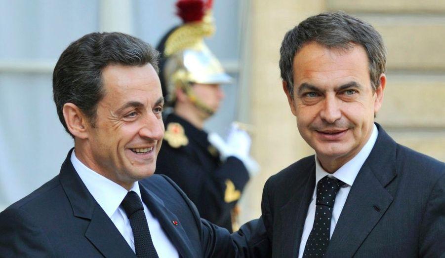 Le premier ministre espagnol, Jose-Luis Rodriguez Zapatero a été accueilli par Nicolas Sarkozy pour assister aux funérailles du policier tué par un membre présumé de l'organisation indépendantiste basque, l'ETA, à Dammarie-les-Lys, il y a tout juste une semaine.