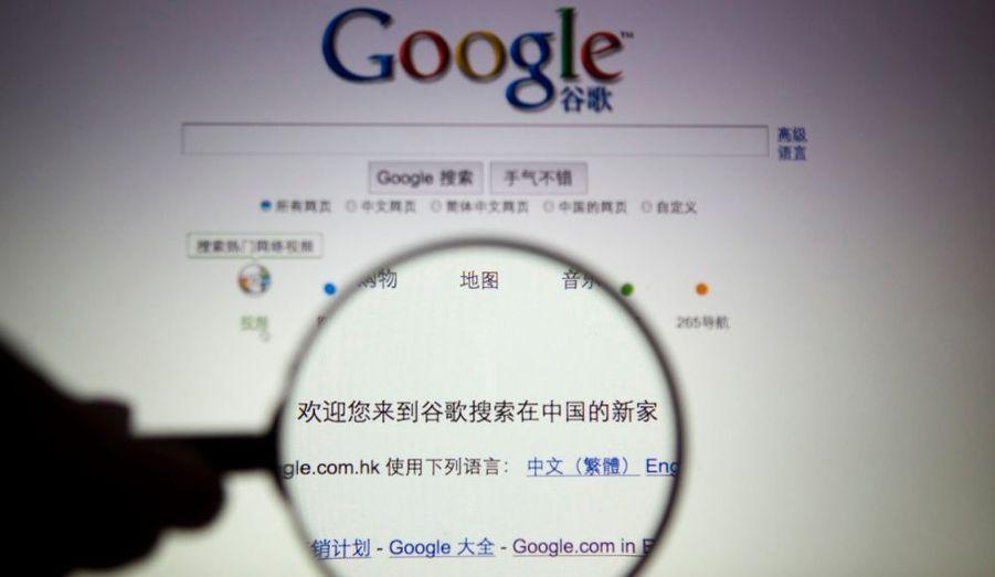 Google a entamé un bras de fer contre la Chine. Depuis lundi soir, les internautes chinois utilisant le moteur de recherche sont redirigés vers la version hébergée à Hong Kong, non censurée. Mais Pékin réussit tout de même à empêcher l'affichage de certaines pages consacrées à des sujets jugés sensibles.