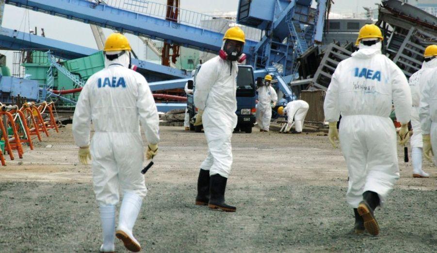 Une équipe de l'Agence internationale de l'énergie atomique (AIEA) a visité la centrale japonaise de Fukushima Daiichi, vendredi, afin de relever les dégâts causés par le puissant séisme et le tsunami qui ont ravagé l'archipel, le 11 mars dernier.