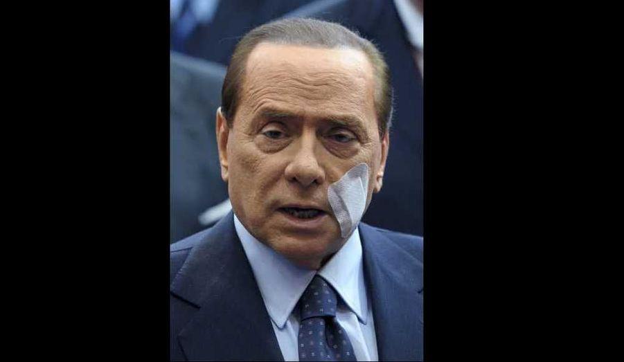 Silvio Berlusconi au Conseil européen extraordinaire de Bruxelles ce vendredi.