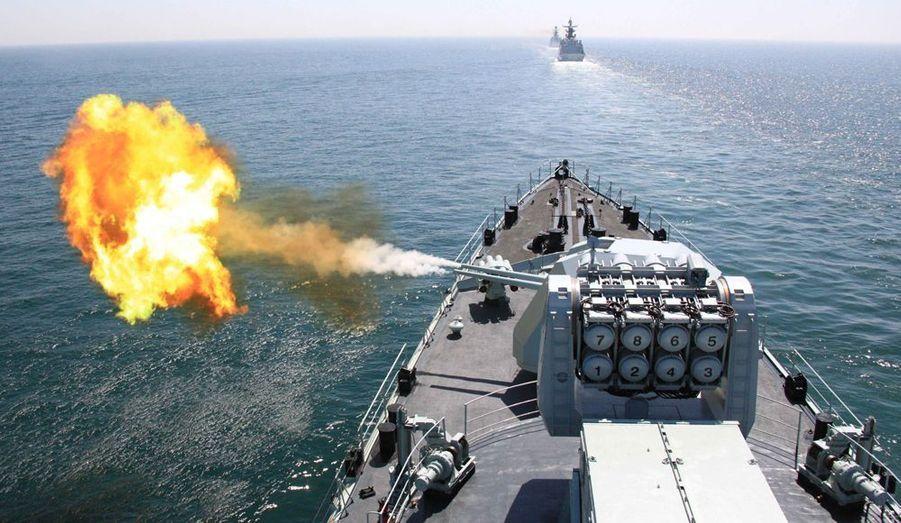 Les armées russes et chinoises ont participé conjointement à des exercices militaires en mer jaune, dans l'Océan Pacifique.