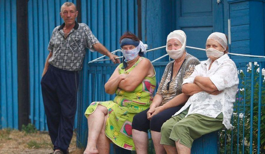 En Russie occidentale, l'air est devenu irrespirable à cause des incendies qui font rage dans cette partie du pays.