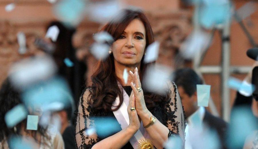 Cristina Kirchner, la présidente de l'Argentine, ici le 10 décembre dernier, sera opérée le 4 janvier d'un cancer de la thyroïde. En son absence, c'est le vice-président qui gèrera le pays.