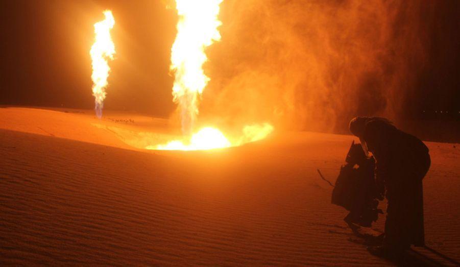 Des saboteurs ont pris pour cible le gazoduc reliant l'Egypte à Israël et à la Jordanie, lundi, dans le désert du Sinaï.