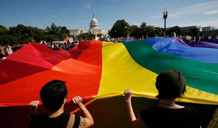 La Cour suprême des Etats-Unis a autorisé mardi l'organisation de mariages entre personnes du même sexe à Washington D.C., la capitale. Le District de Columbia devient ainsi le cinquième Etat à légaliser ce type d'unions.
