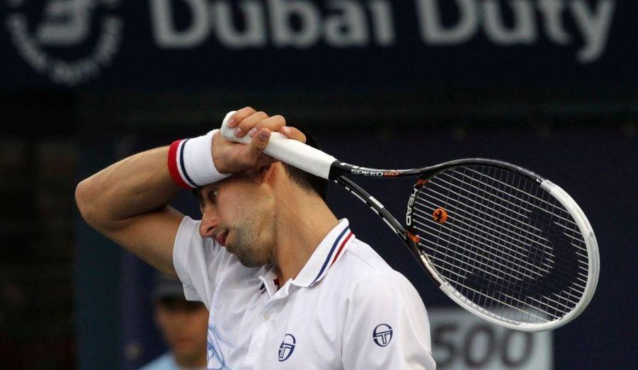 Il aura fallu attendre le 2 mars pour assister à la première défaite de Novak Djokovic en 2012. Le Serbe s'est incliné face à l'Ecossais Andy Murray (6-2/7-5), en demi-finale du tournoi de Dubaï.