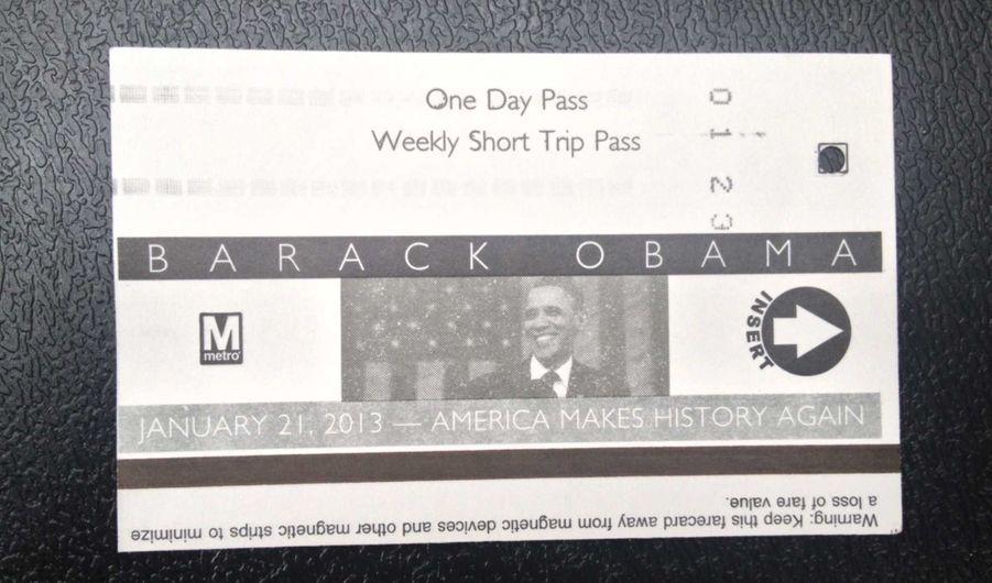 A Washington, même les transports se sont mis aux couleurs de la journée d'investiture de Barack Obama, comme a pu constater notre correspondant aux Etats-Unis, Olivier O'Mahony.