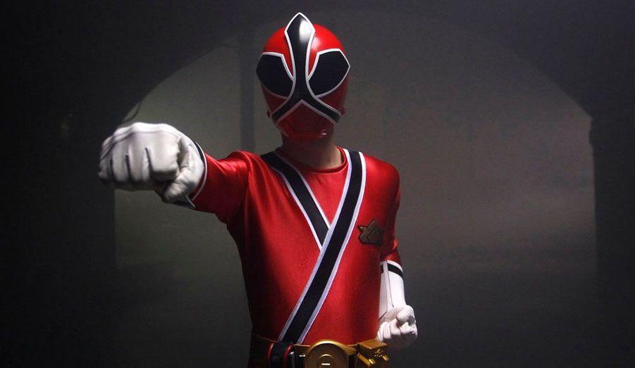Le champion de Taekwondo britannique Aaron Cook pose à l'occasion du tournage d'un film promotionnel pour les JO de Londres.