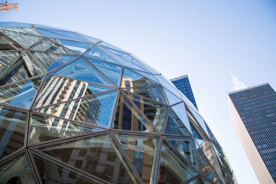 Les sphères réservées aux employés d'Amazon devraient ouvrir en 2018