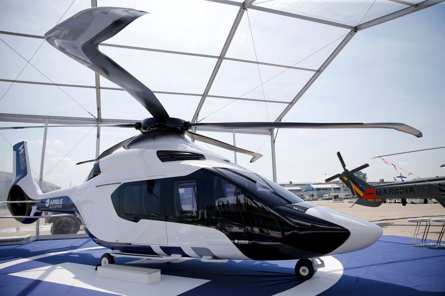 L'hélicoptère H160 d'Airbus Helicopters