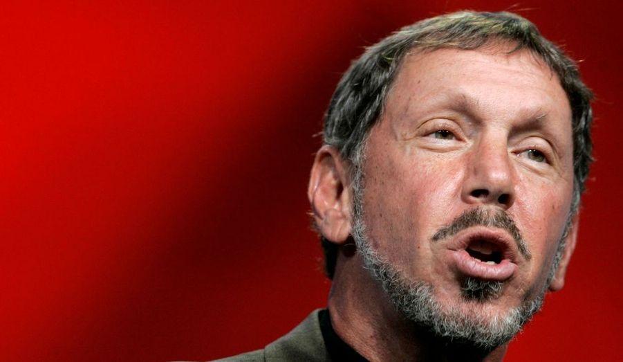 Autodidacte, cet homme d'affaires américain est le cofondateur de la firme Oracle Corporation, spécialisée en système de gestion de base de données. Sa fortune est estimée par Forbes à 28 milliards de dollars.