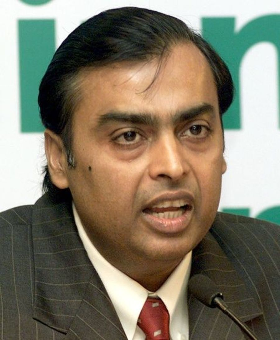 """Mukesh Ambani, est la quatrième fortune mondiale avec un patrimoine personnel estimé à 29 milliards de dollars. Il dirige le conglomérat """"Reliance Industries"""" qui est aujourd'hui, la plus grande compagnie privée d'Inde."""