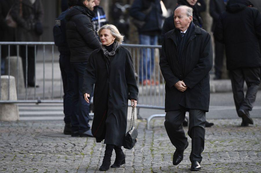 Elisabeth Guigou et Jacques Toubon