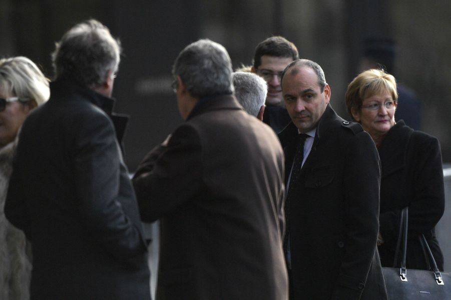 Laurent Berger et Nicole Notat (à droite), qui avait précédé François Chérèque à la tête de la CFDT