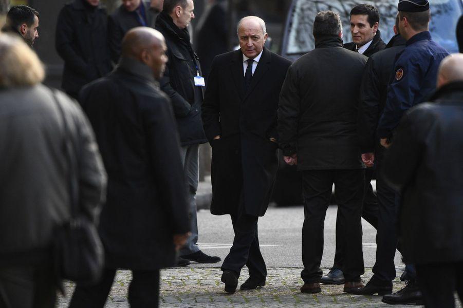 Le président du Conseil constitutionnel Laurent Fabius