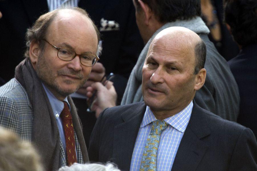 2-Alain et Gérard Wertheimer (petits fils des créateurs de la maison de couture Chanel)et leurs familles : 50 milliards d'euros