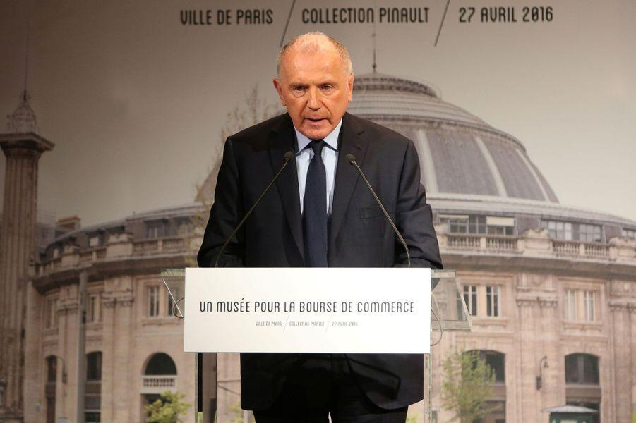 6- François Pinault (fondateur des sociétés Artémis et Kering) et sa famille : 29 milliards d'euros