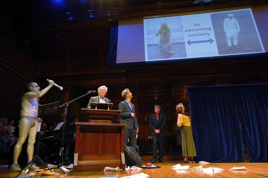 Eigil Reimers et Sindre Eftestol ont reçu le prix de science arctique