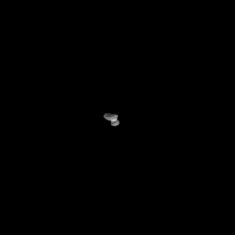 La NavCam de Rosetta a immortalisé l'approche, ces derniers jours.