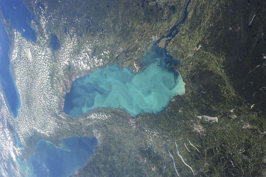 Le lac Ontario, au Canada