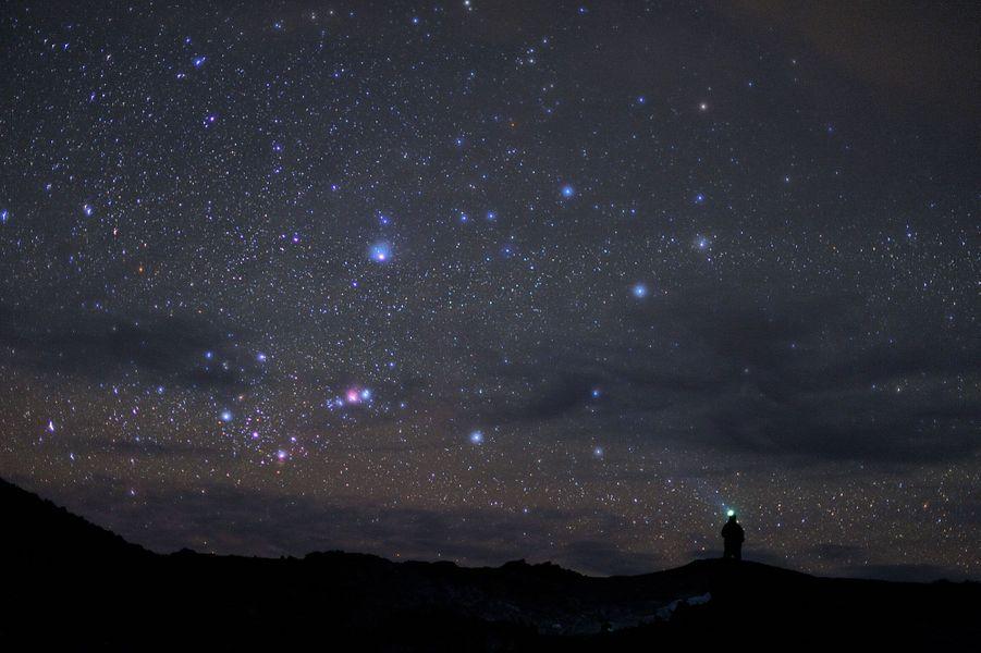«La Plaine des Sable à l'Île de la Réunion est située au cœur du massif du Piton de la Fournaise. Cette zone, éloignée de toute habitation et donc de la pollution lumineuse, offre des conditions parfaites pour l'observation des étoiles. M42, la grande nébuleuse d'Orion, est ici parfaitement visible.» Visitez le site de Luc Perrot :www.lucperrot.frEt sa page Facebook :www.facebook.com/lucperrotphoto