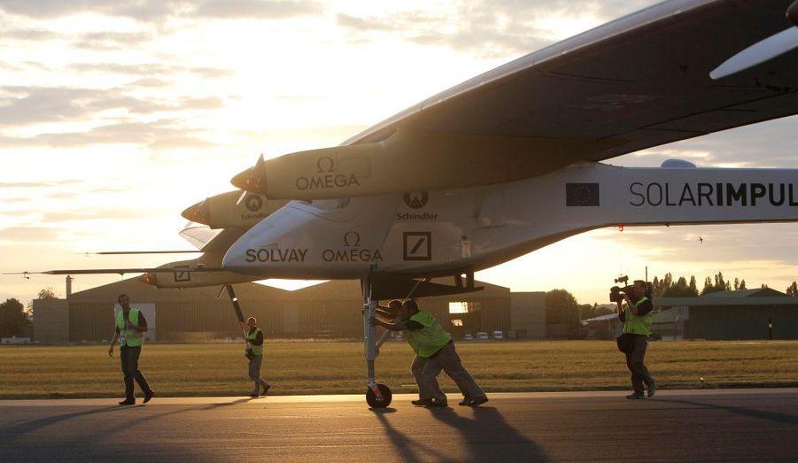 Le Solar Impulse sera l'invité d'honneur du Salon International de l'Aéronautique et de l'Espace, au Bourget à partir du 20 juin.