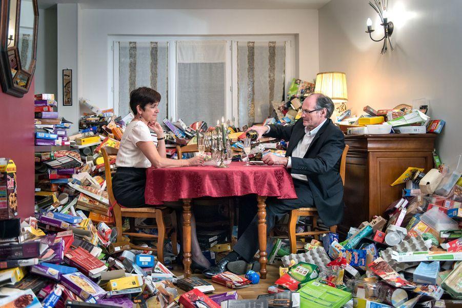 Quatre ans de déchets ménagers c'est... 70m3 de bouteilles, flacons, cartons