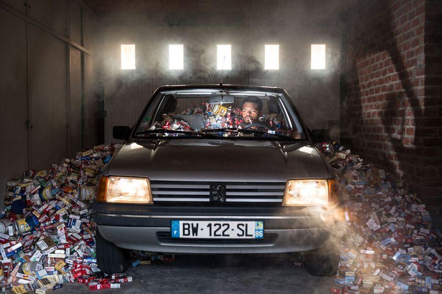 Quatre ans ded déchets c'est... 5 000 paquets de cigarettes