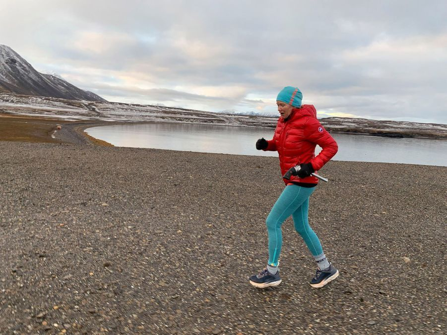 Footing en Arctique.