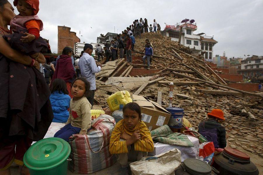 Avril 2015. Séisme au Népal