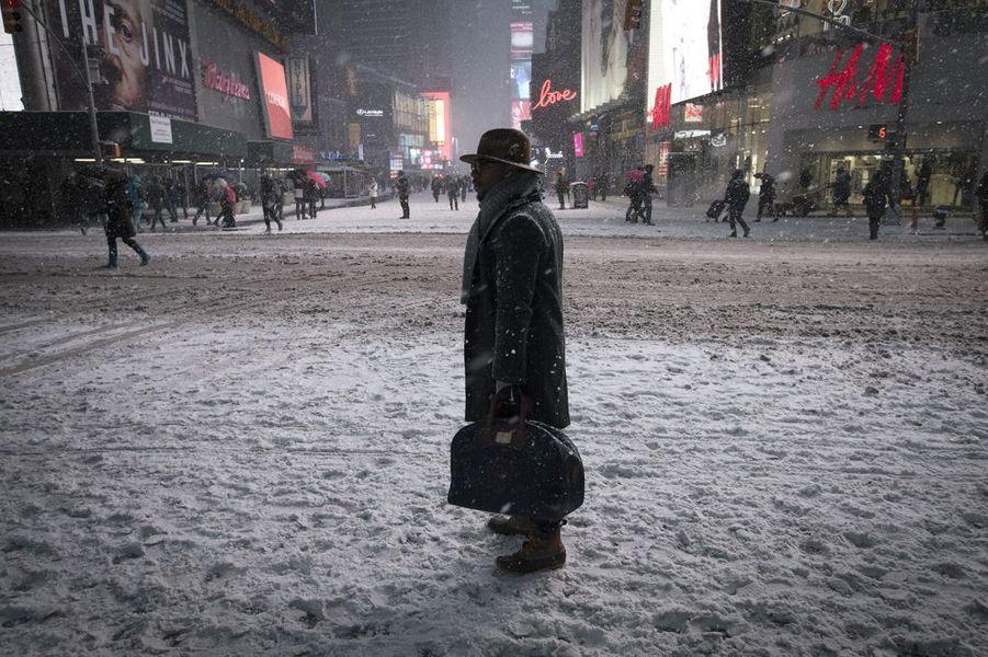 Janvier 2015. Tempête de neige à New York