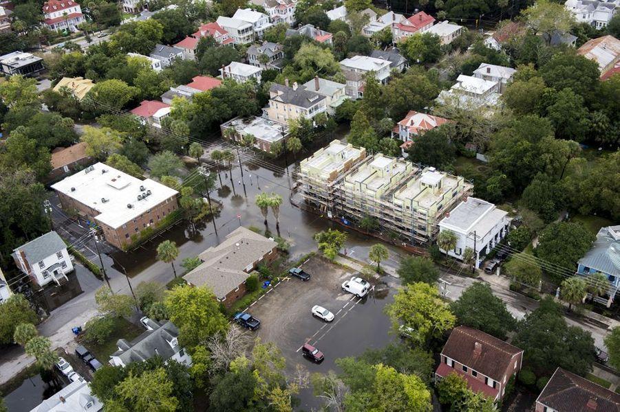 Octobre 2015. Inondations en Caroline du Sud