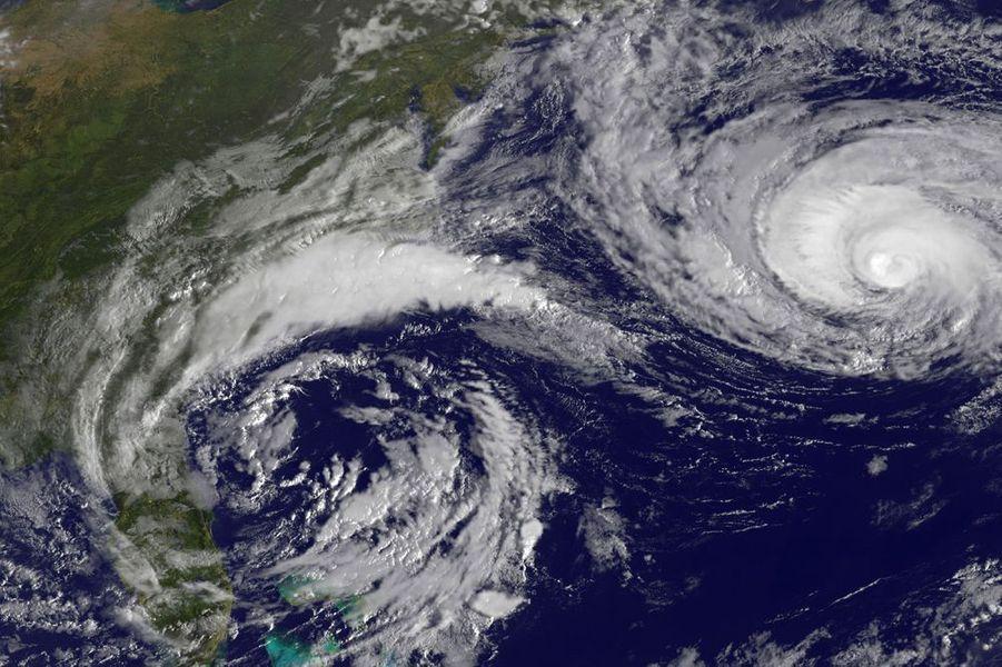 Octobre 2015. L'ouragan Joaquin s'approche de la côte sud-est des Etats-Unis