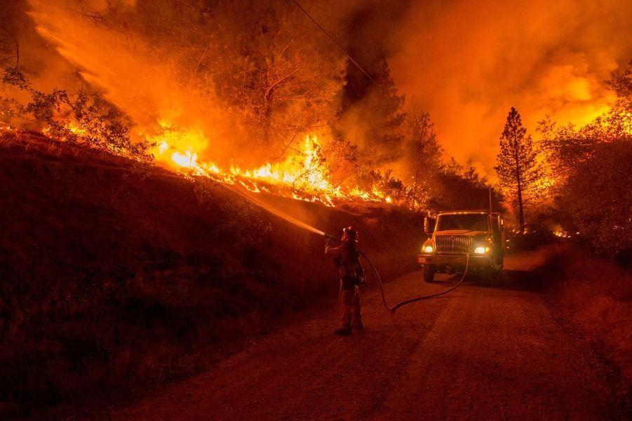 Septembre 2015. Incendies en Californie