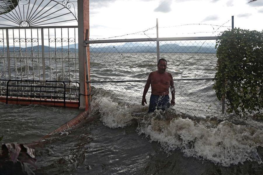 Septembre 2015. Tempête tropicale au Mexique