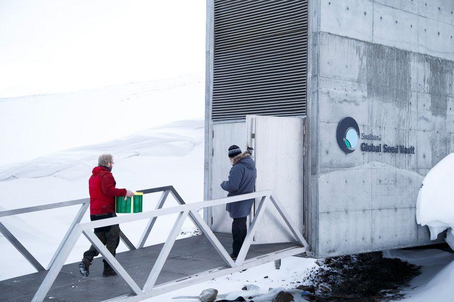 L'entrepôt peut accueillir des millions d'échantillons de graines.